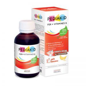 Siro Viatmin B & Fe Pediakid Pháp - 125ml (Từ 6 tháng)