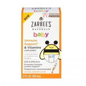 Siro tăng cường miễn dịch Zarbee's Mỹ - 59ml (Từ 2 tháng)