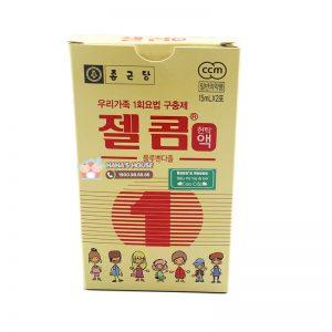 Tẩy giun Zelcom Hàn Quốc - 2 gói x 15ml (Từ 2 tuổi)