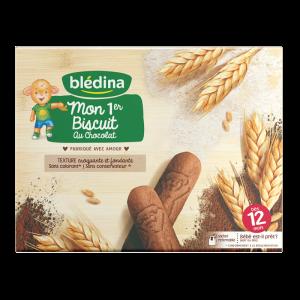 Bánh Bledina Pháp vị chocolate - 180g (12m+)