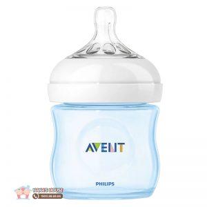 Bình sữa nhựa Avent Anh xanh - 125ml (0m+)