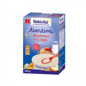 Bột Bebivita Đức vị gạo táo (đêm) - 500g (4m+)