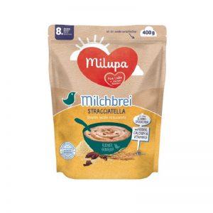 Bột Milupa Đức vị cháo sữa, stracciatella (ngày) - 400g (8m+)