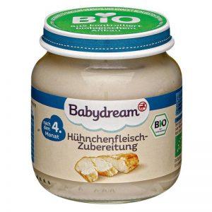 Hũ Babydream Đức vị gà - 120g (4m+)