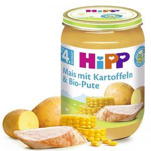 Hũ Hipp Đức vị gà, ngô, khoai tây - 190g (4m+)