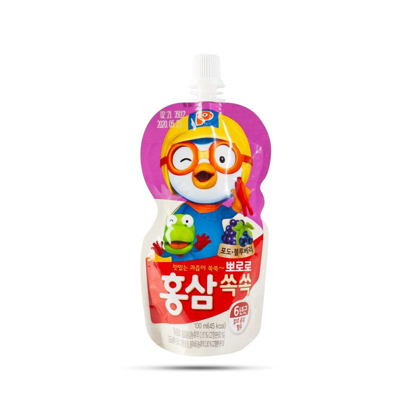 Nước hồng sâm Hàn Quốc vị việt quất - 100ml (2y+)