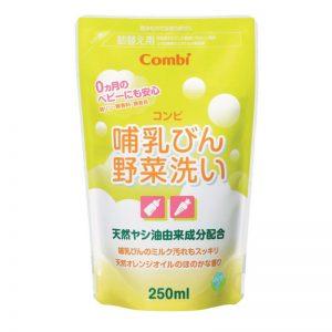 Nước rửa bình Combi Nhật - 250ml (túi)