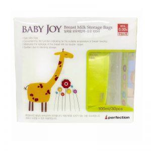 Túi trữ sữa Baby Joy Hàn Quốc - 100ml (30 chiếc)