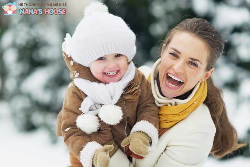 bảo vệ bé vào mùa đông