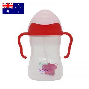 Bình tập uống B.box sippy cup Disney Mouse Úc (tay đỏ) - 240ml (6m+)