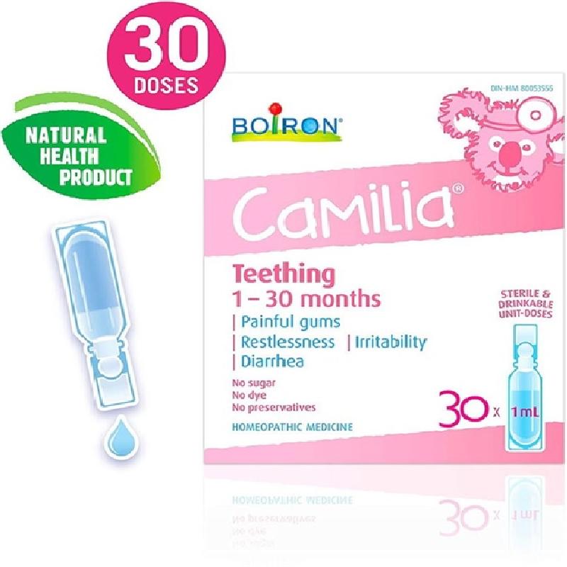 Boiron Camilia mọc răng